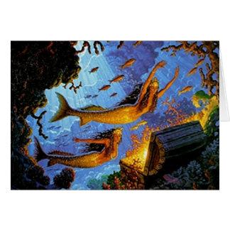 Mermaids Treasure Of Gold Card
