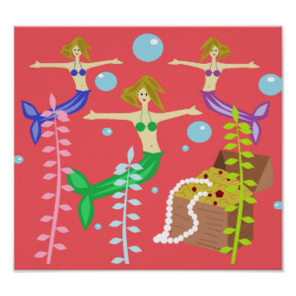 Mermaids' Treasure Poster