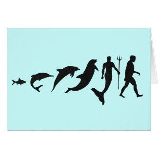 Merman Evolution Card
