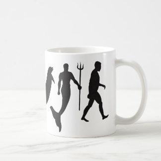 Merman Evolution Coffee Mug
