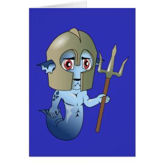 Merman Neptune's Warrior Card
