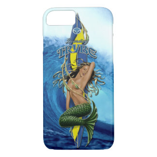 MerMarilyn Mermaid Surfboard Tropical Wave iPhone 7 Case