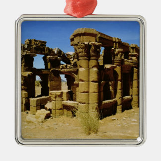 Meroitic kiosk christmas ornament