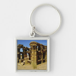 Meroitic kiosk key ring