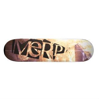 Merp Board Skateboard Deck