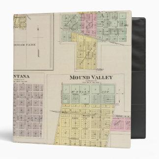 Merriam, Altamont, Montana, Mound Valley, Kansas 3 Ring Binders