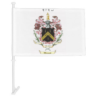 Merrick Crest Flag with Name of YHWH Car Flag