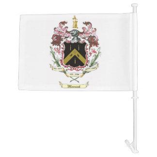Merrick Family Crest Flag Car Flag