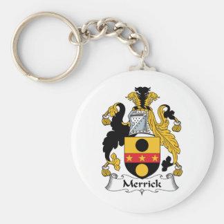 Merrick Family Crest Key Ring