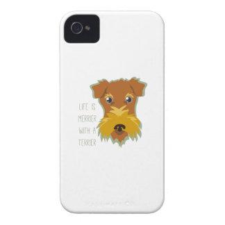 Merrier Terrier iPhone 4 Cases