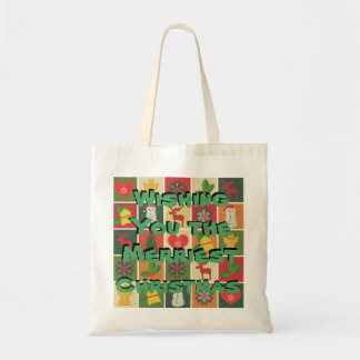 Merriest of Christmases Tote Bag