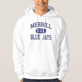 Merrill - Blue Jays - High - Merrill Wisconsin Hooded Pullovers