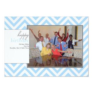 Merrill Lynch BHD Group Blue Chevron Photocard Card