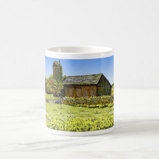 Merrillville Barn Basic White Mug