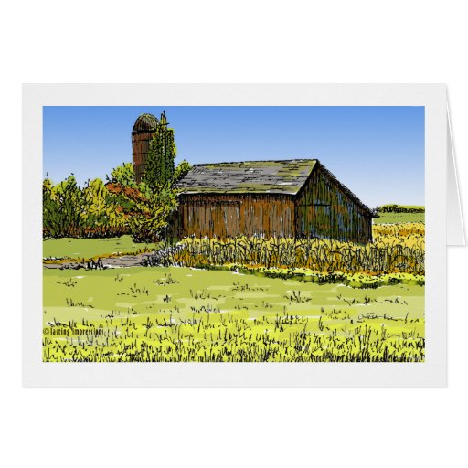 Merrillville Barn Greeting Cards