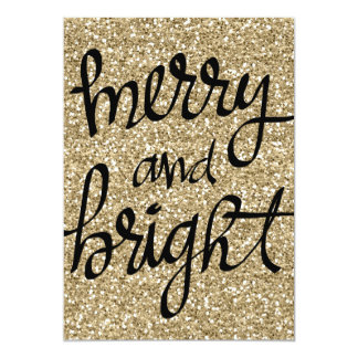 Merry and Bright - Christmas Card