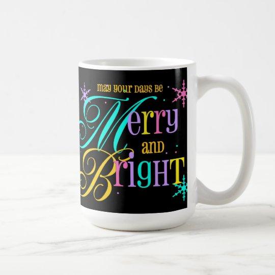 Merry and Bright Christmas Mug