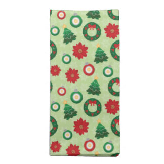 Merry and Bright cloth napkins