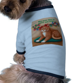 Merry and Bright Pet Tshirt