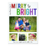 Merry and Bright | Holiday Photo Card Personalized Invitation