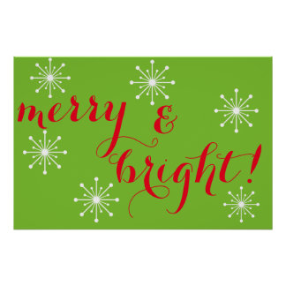 Merry and Bright! Poster