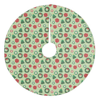 Merry and Bright tree skirt