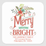Merry and Bright Vintage Holiday Country Floral