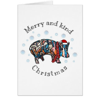 Merry and Kind Christmas Card