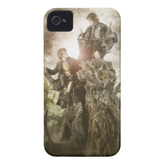 Merry and Peregrin on Treebeard iPhone 4 Case