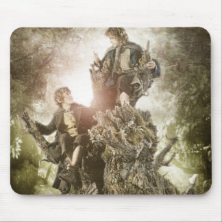 Merry and Peregrin on Treebeard Mouse Mat