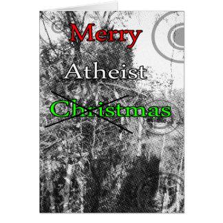 Merry Atheist Xmas Card