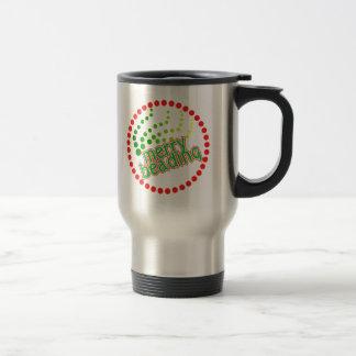 Merry Beading Travel Mug