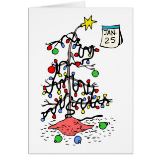 Merry Belated Christmas Card