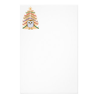 Merry Bookmas Personalized Stationery