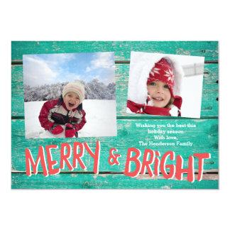 Merry & Bright Card