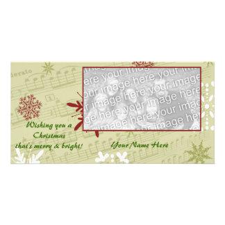Merry & Bright Custom Photo Card