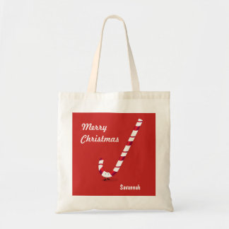 Merry Candy Cane | Basic Tote