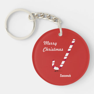 Merry Candy Cane | Keychain