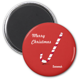 Merry Candy Cane | Magnet