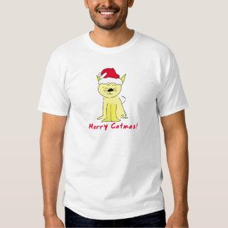 Merry Catmas Christmas T-shirt