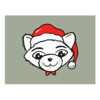 Merry CATmas Everyone - Merry Christmas Cat Postcard