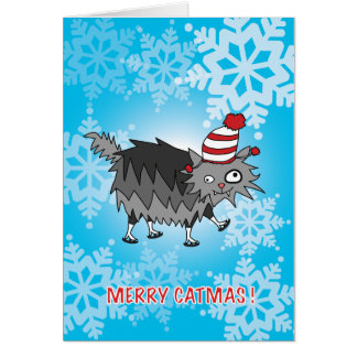 MERRY CATMAS! GREETING CARD