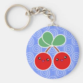 Merry Cherries Kawaii Keychain