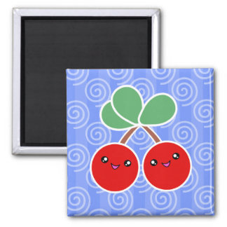 Merry Cherry Kawaii Magnet
