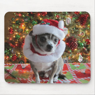 Merry Chico Mouse Pad
