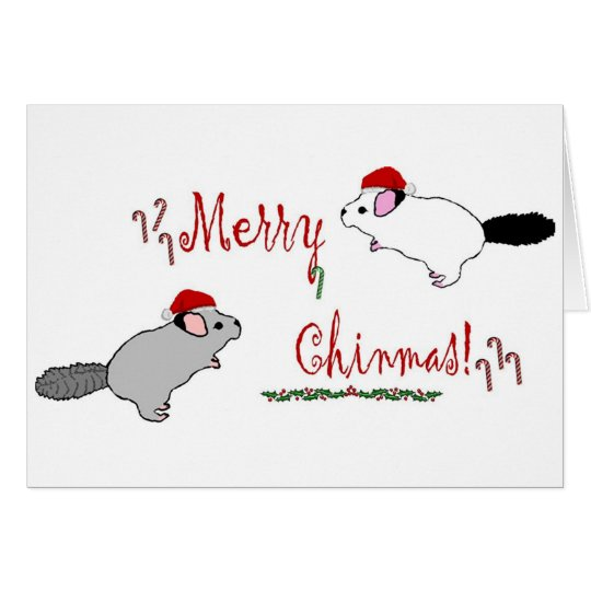 Merry Chinmas  Card