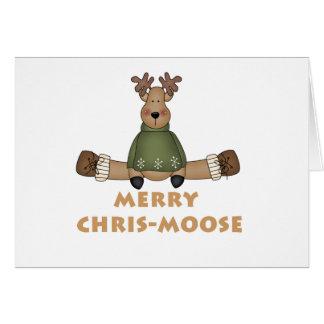 Merry Chris-Moose Card