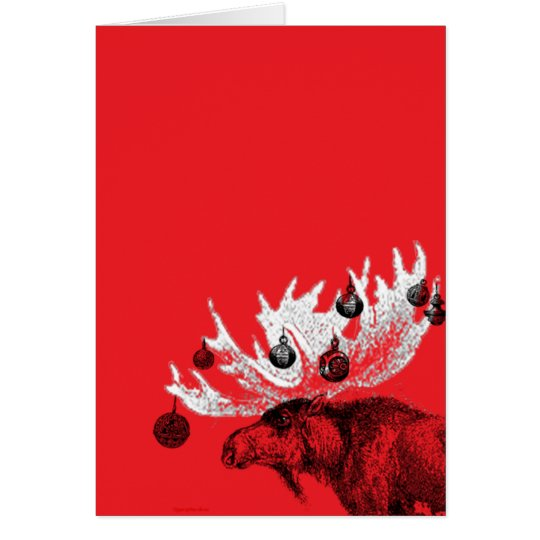 Merry Chris-moose Card
