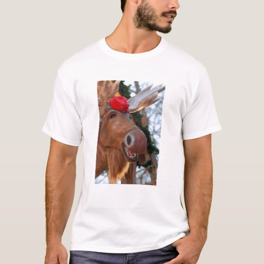 Merry Chrismoose T-Shirt (Women's)
