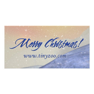 Merry Chrismtas 8x4 card Photo Greeting Card